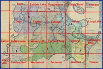Madison Parish Topographic Maps Detailed 7 5 Quads Usgs Topographic Maps