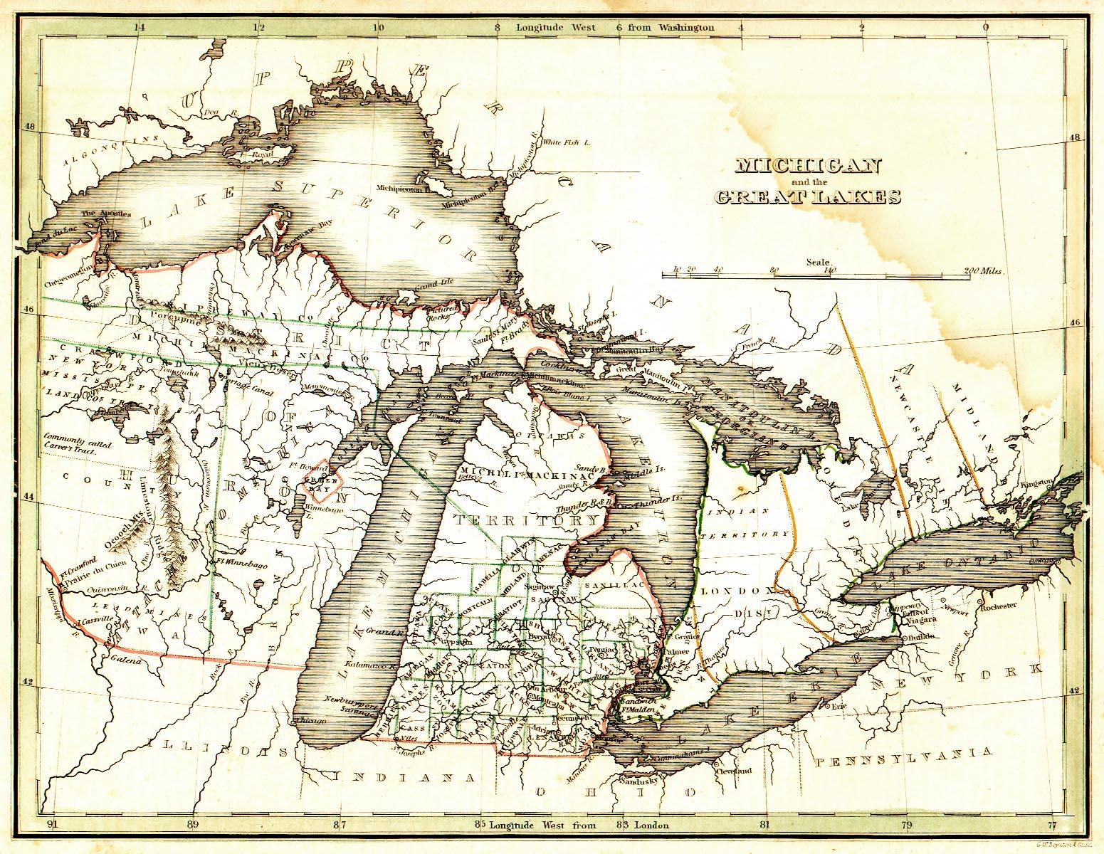 Coleman Michigan Map.Michigan Maps Michigan Digital Map Library Table Of Contents