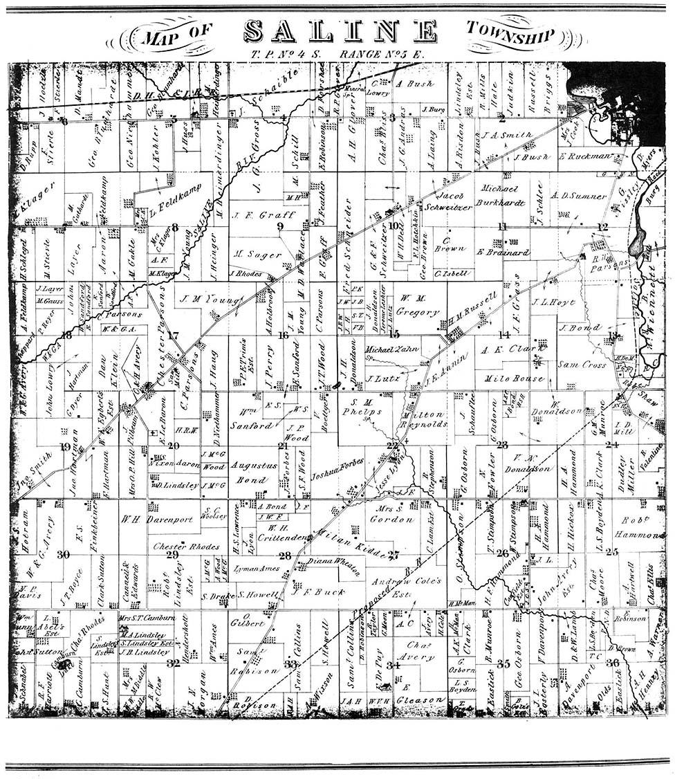 Michigan Maps. Michigan Digital Map Library. Table Of