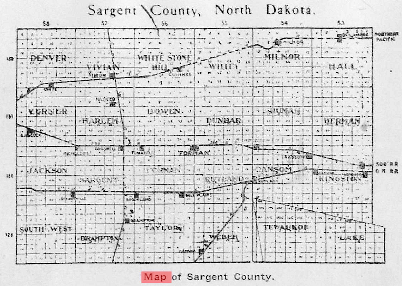 south dakota township map Usgenweb Maps Project North Dakota south dakota township map