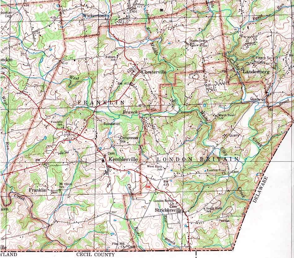 County Pennsylvania Township Maps