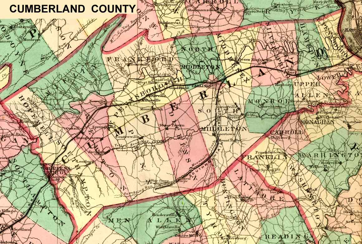 Cumberland County Usgw Archives Index Page