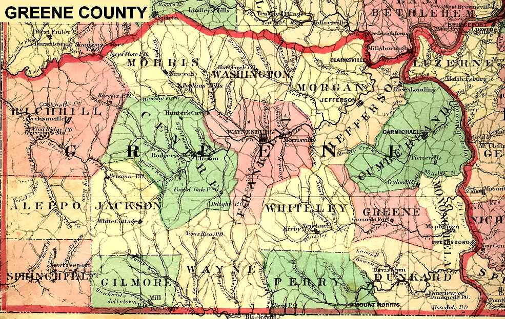 Pennsylvania County USGS Maps - County maps of pennsylvania