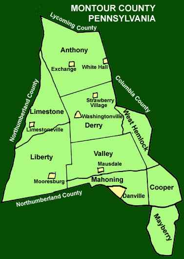 Cameron County Townships