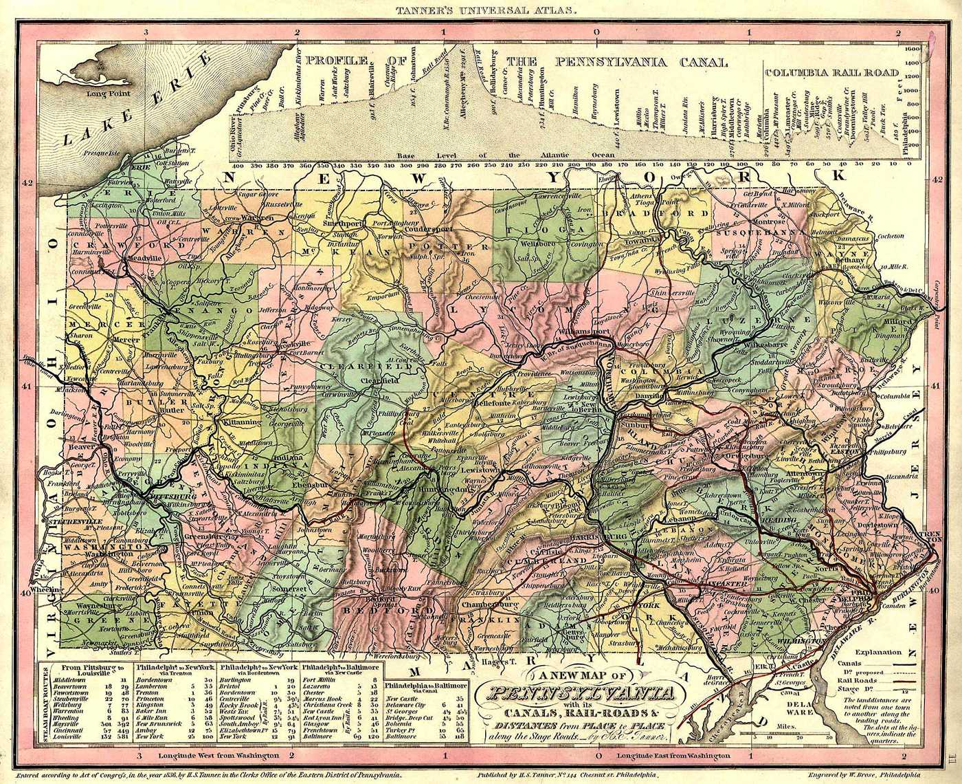 Pennsylvania County USGS Maps - Pennyslvania map