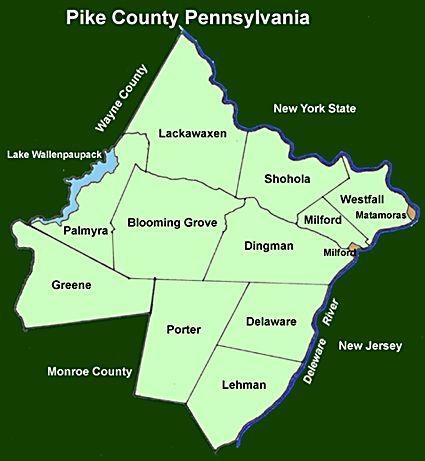 Map of milford pennsylvania - Fsboshasta.Com