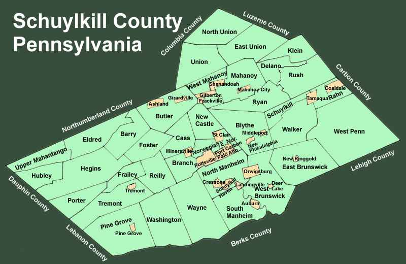 Schuylkill County, PA Homes for Sale Real Estate