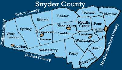 snyder county dating William andrew red snyder was born 26 december 1946 to emory and laura snyder of lewis county, wv he was one of 12 children, some of which were older, some of which were younger than red, who was often called billy by his family.