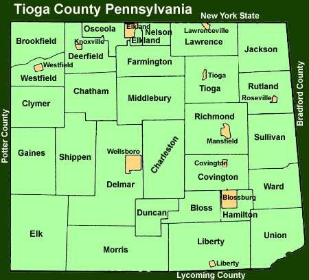 Bradford County Pennsylvania Property Search
