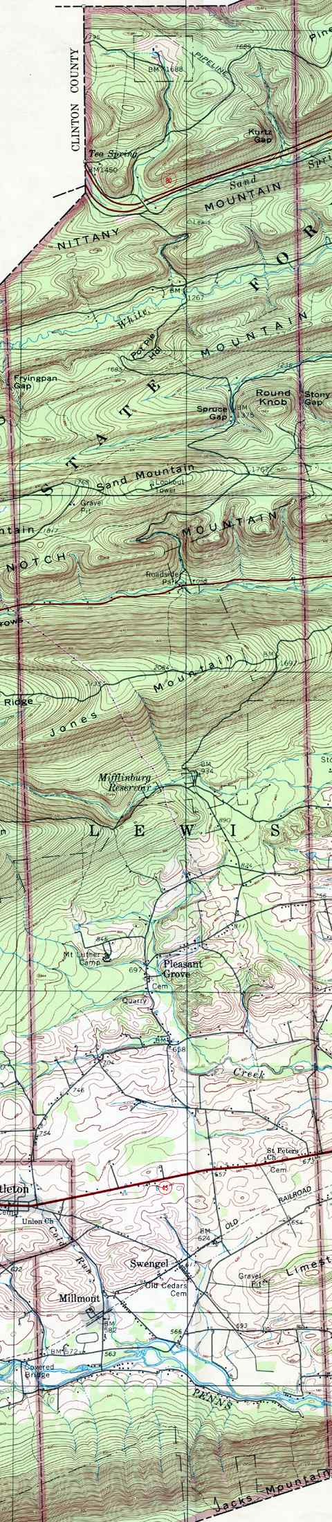 Union County Pennsylvania Township Maps on map of preble county, map of du page county, map of gilmer county, map of yazoo county, map of juniata county, map of woodford county, map of white county, map of greenwood county, map of banks county, map of clarke county, map of alexander county, map of glades county, map of iron county, map of saint clair county, map of roane county, map of crittenden county, map of stone county, map of essex county, map of rockbridge county, map of noble county,