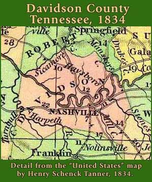 Davidson County, Tennessee: Maps and Gazetteers on