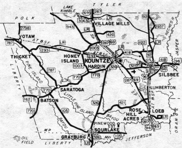 Hardin County, Texas: Genealogy, Census, Vital Records
