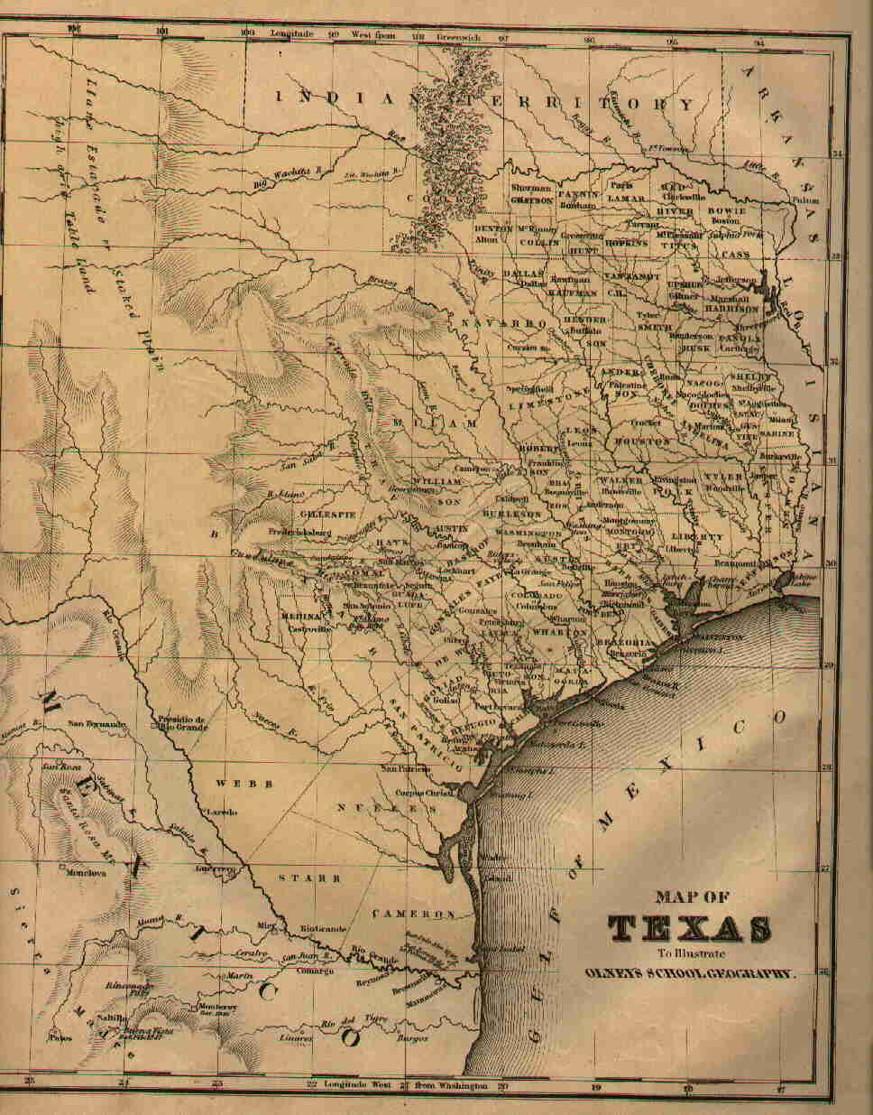 Texas Maps Texas Digital Map Library Table Of Contents United - Map of tex