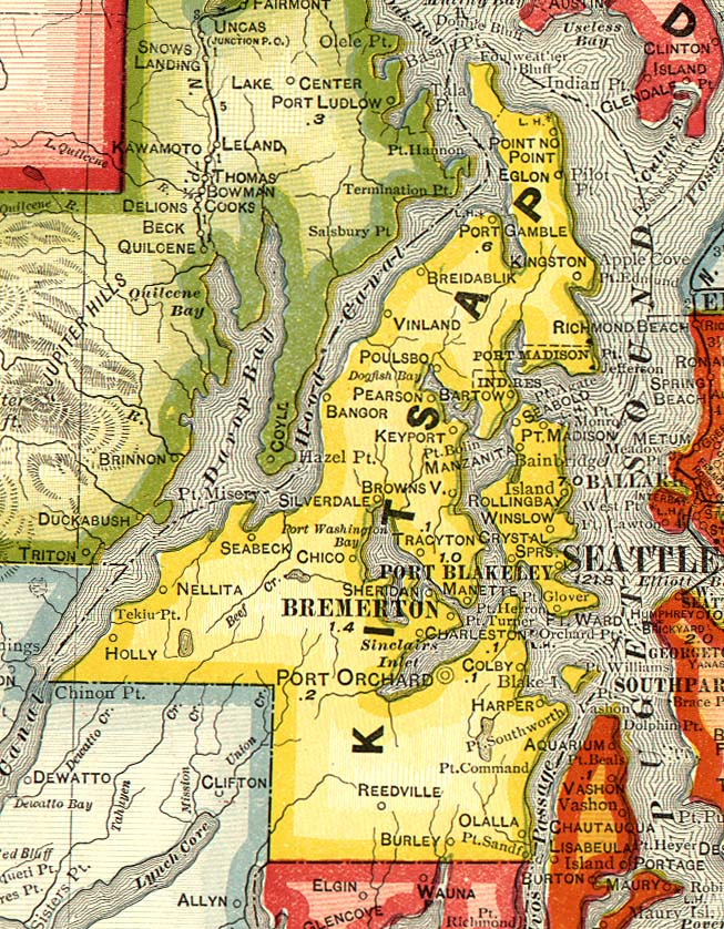 Bremerton 171 Every County