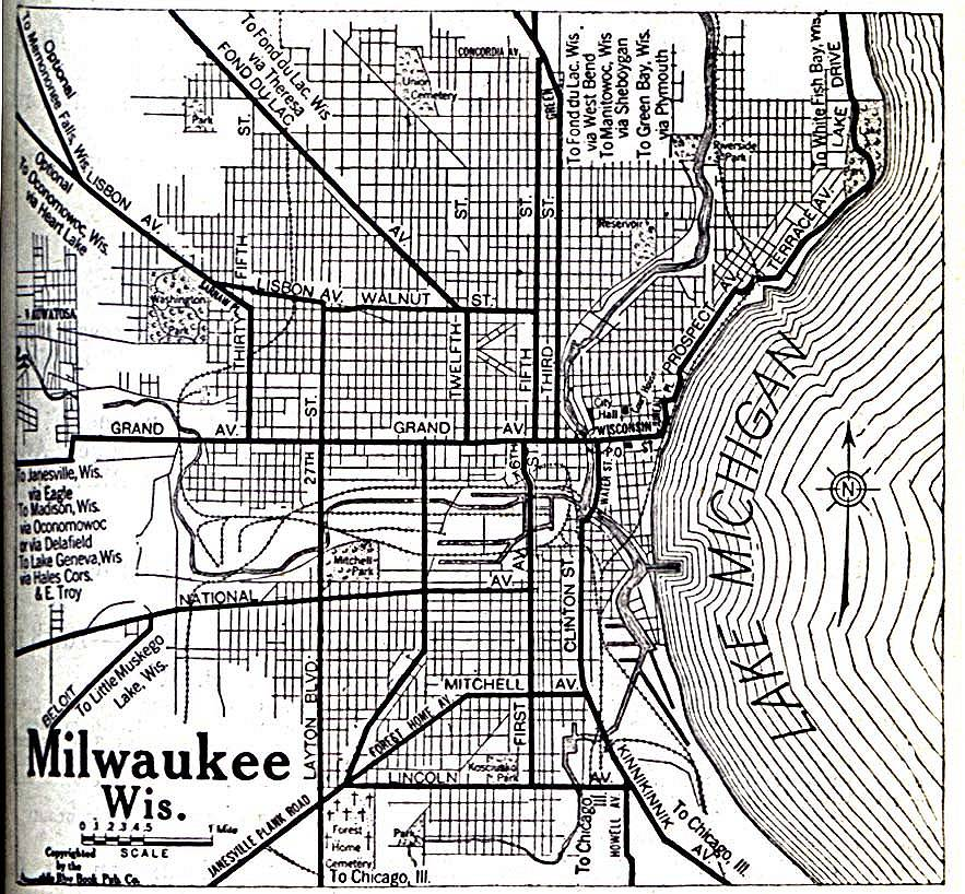 Milwaukee County, Wisconsin: Maps and Gazetteers