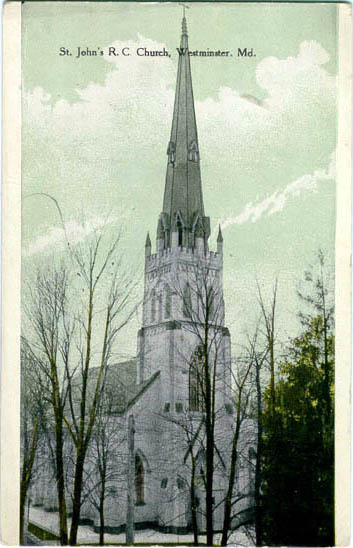 Penny Postcards From Carroll County Maryland