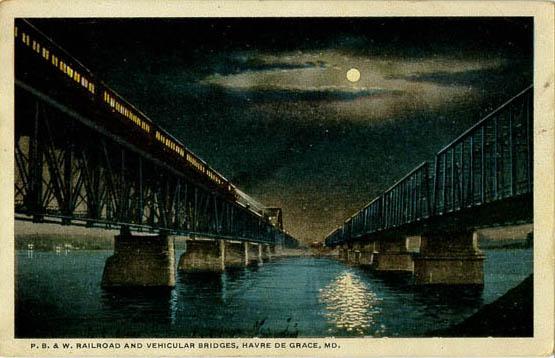 a toothpick bridge