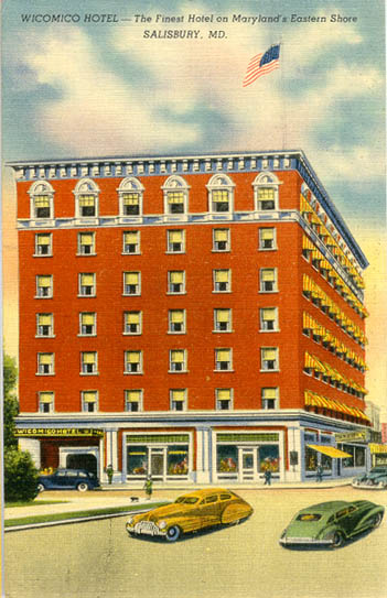 Penny Postcards From Wicomico County Maryland