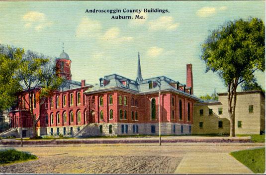 Androscoggin County Buildings, Auburn