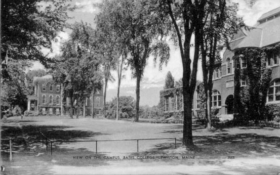 View of the Campus, Bates College, Lewiston