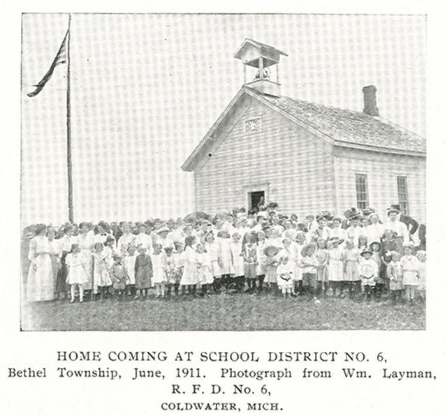 USGenWeb Archives: Branch County, MI Schools