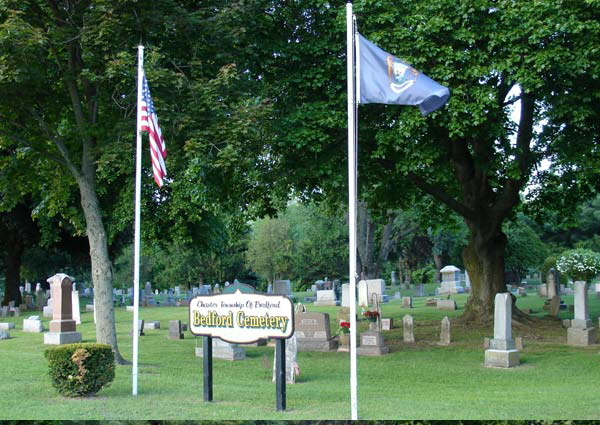 Bedford Cemetery Entrance