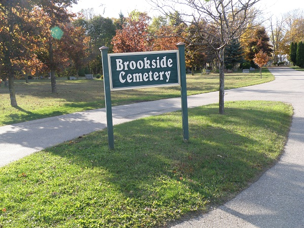 Brookside Cemetery Entrance