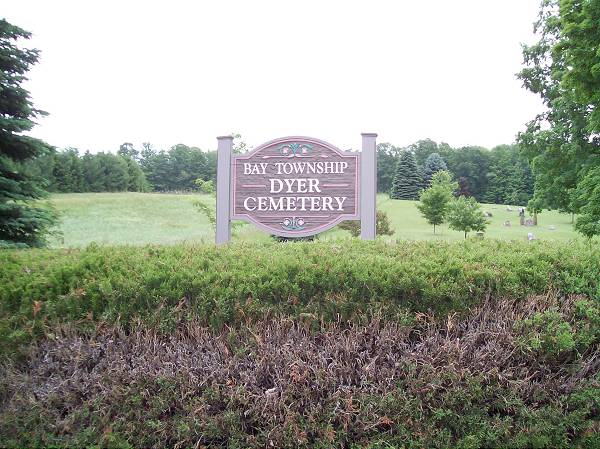 Dyer Cemetery Sign