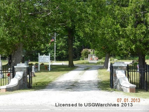 St. Augustine Cemetery entrance