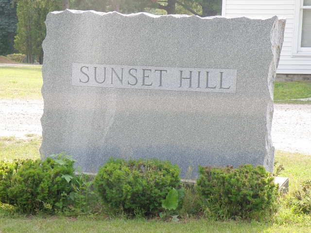 Sunset Hills Cemetery Entrance