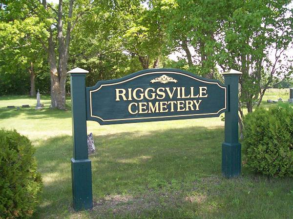 Riggsville Cemetery Headstones, Cheboygan, Inverness Townshipinverness township