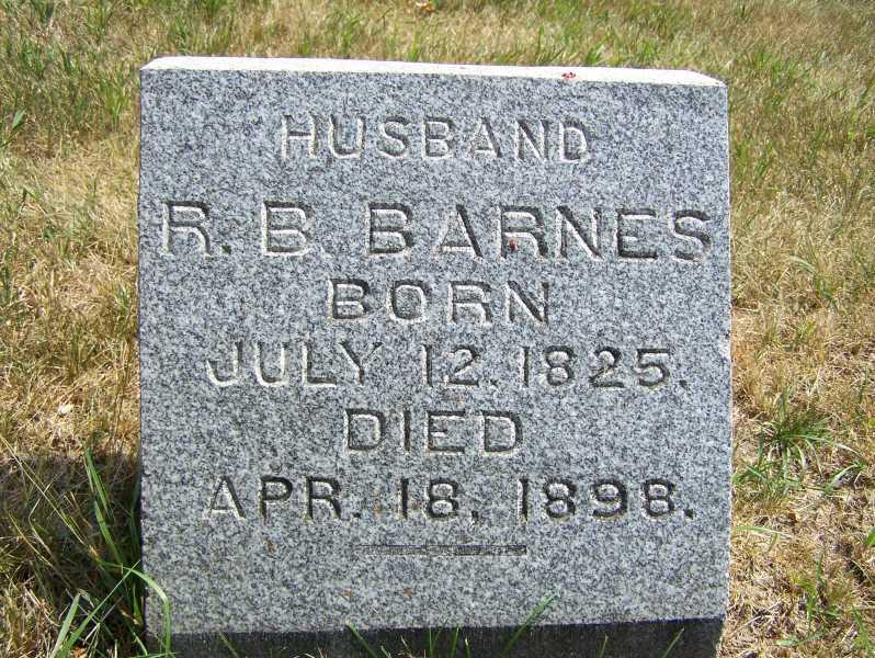 Barnes, R. B.