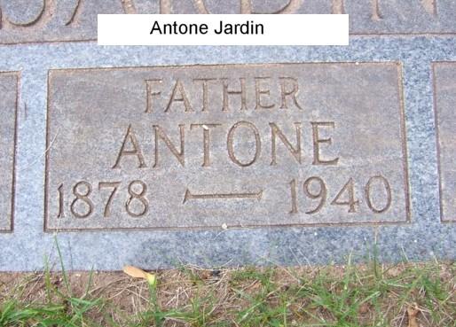 Fernwood cemetery headstones gladstone delta county for Jardin hansen