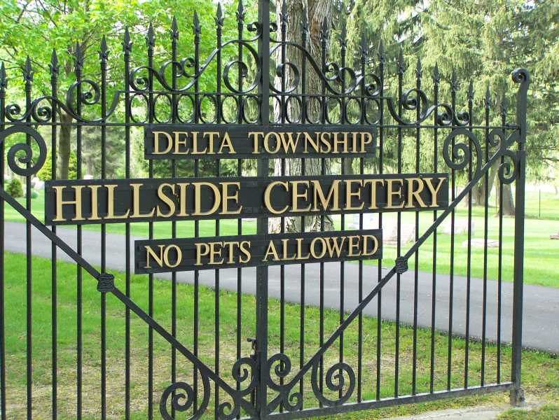 Hillside Cemetery Entrance