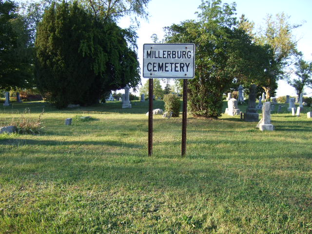 Millerburg Cemetery Entrance