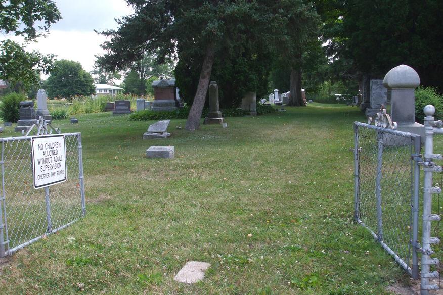 Needmore Cemetery Entrance