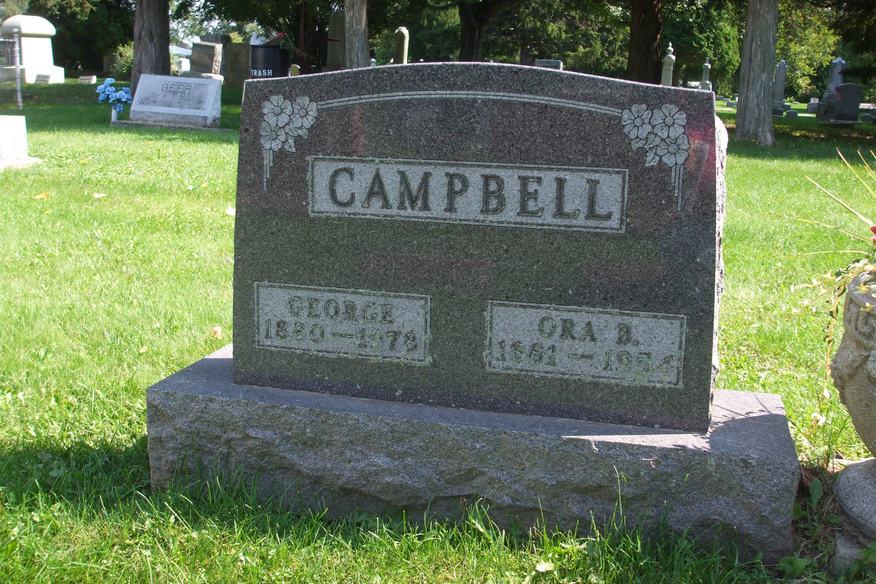 Chapel Hill Memorial Gardens Cemetery Headstones Lansing Clinton County Michigan