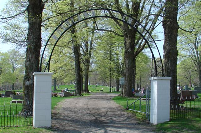 Woodlawn Cemetery Entrance