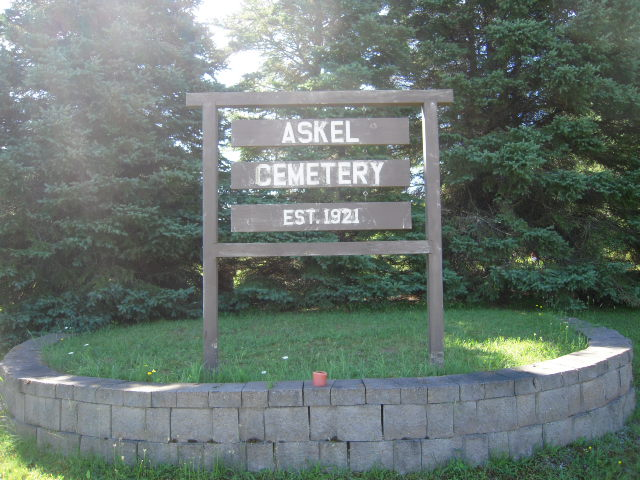 Askel cemetery Entrance photo