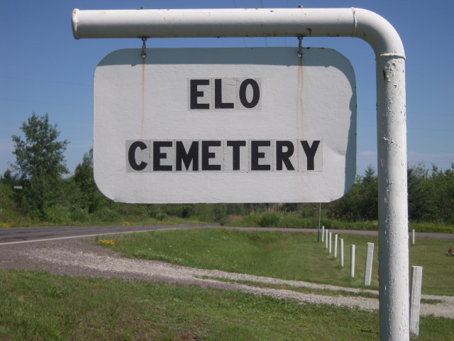 Elo cemetery Entrance photo