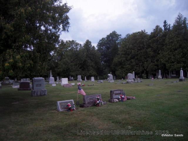 St. Felix Church Cemetery overview