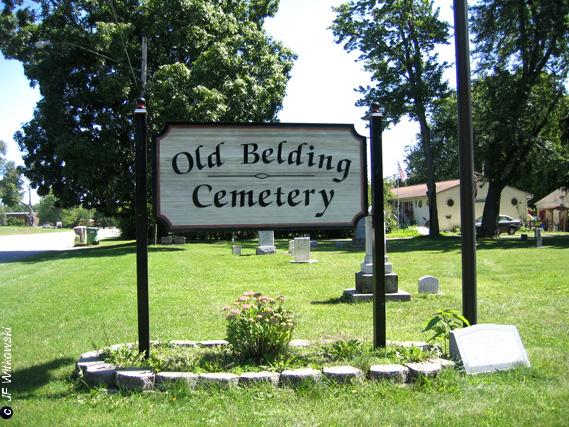 Old Belding Cemetery Entrance
