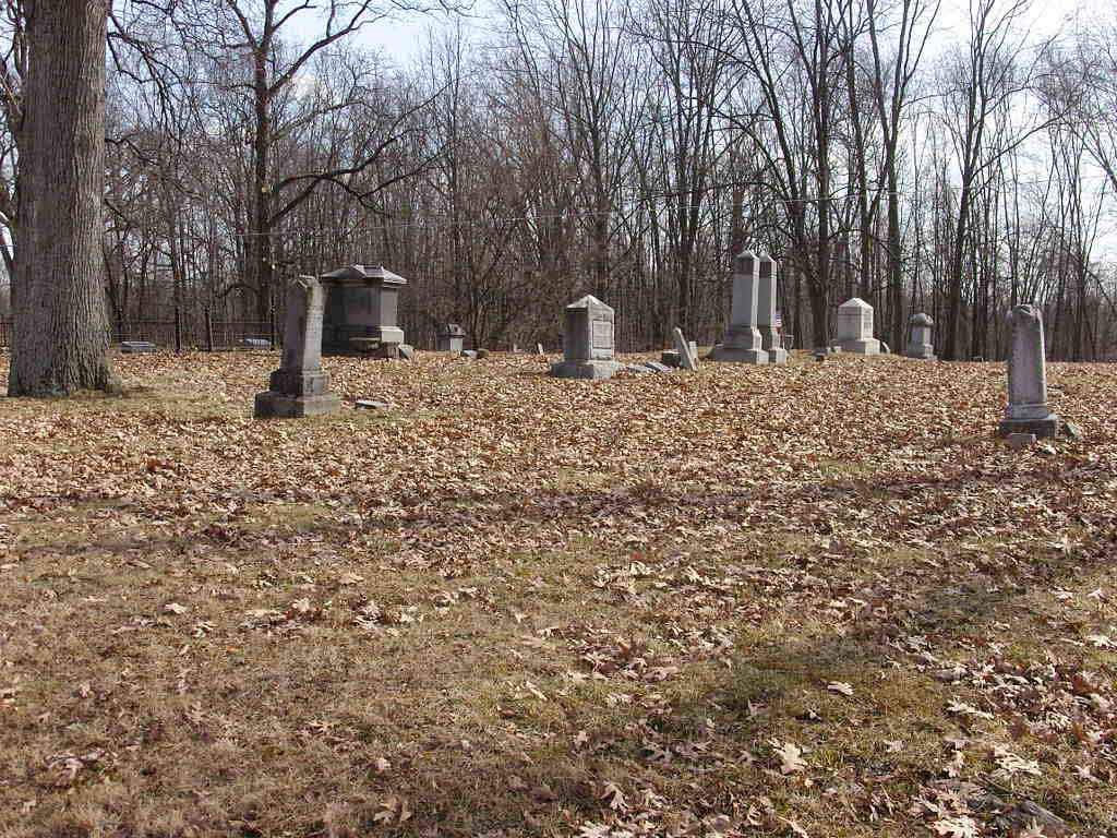 Pewamo Cemetery Overview