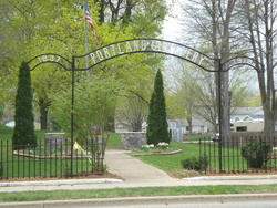 Portland Cemetery Entrance
