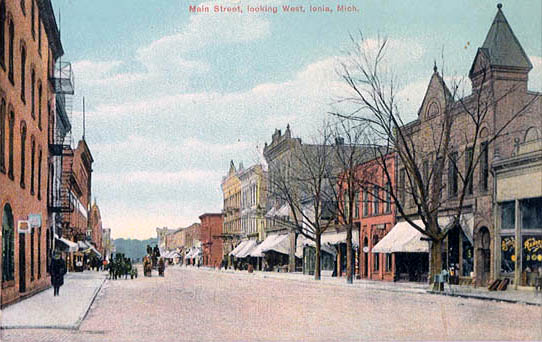 Penny Postcards From Ionia County Michigan