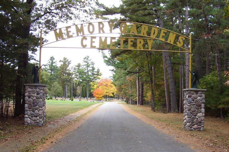 Memory Gardens Cemetery entrance