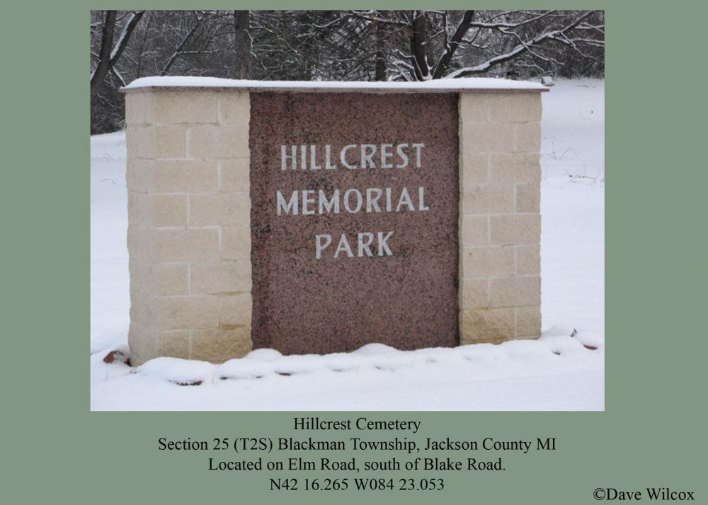 Hillcrest Memorial Park Cemetery Entrance