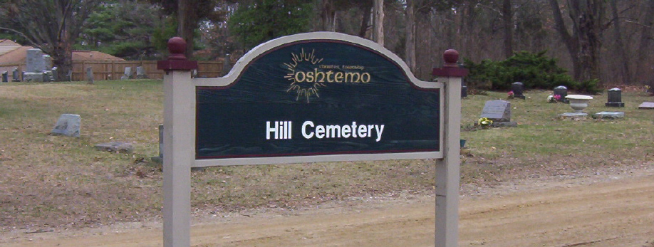 Hill Cemetery Sign