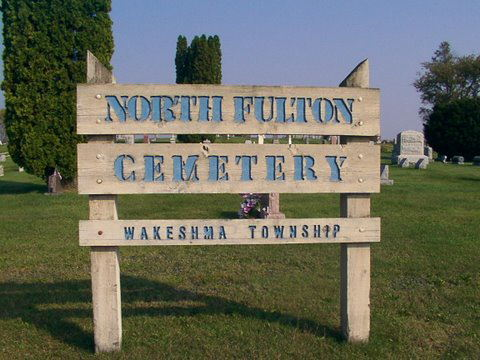 North Fulton/Northside Cemetery Sign