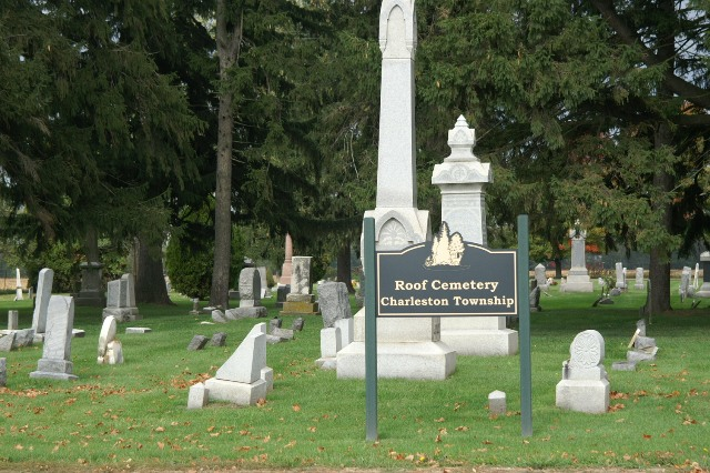Roof Cemetery Entrance